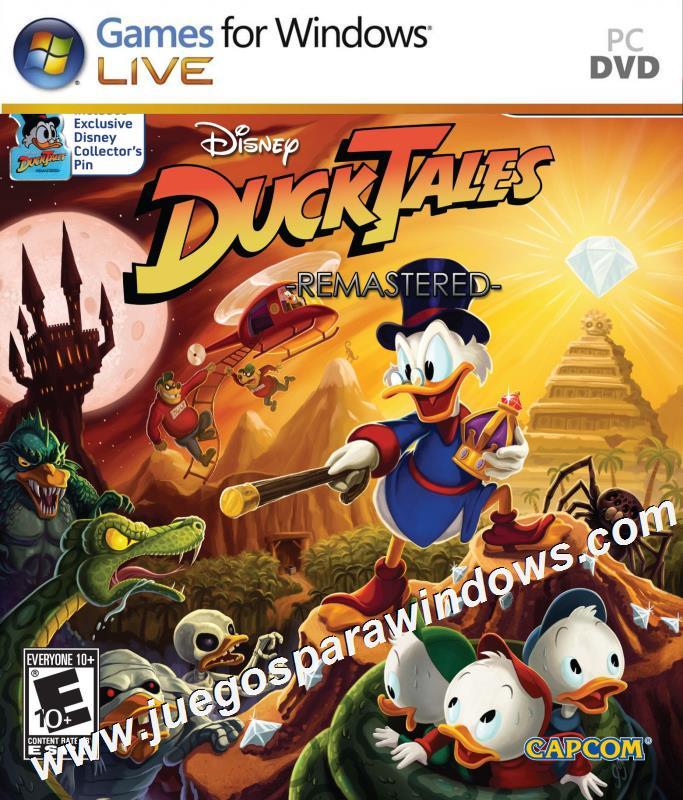 DuckTales Remastered PC ESPAÑOL Descargar Full