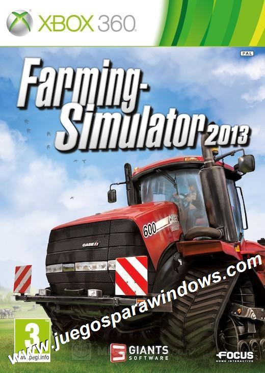 Farming Simulator 2013 XBOX 360 ESPAÑOL Desca...