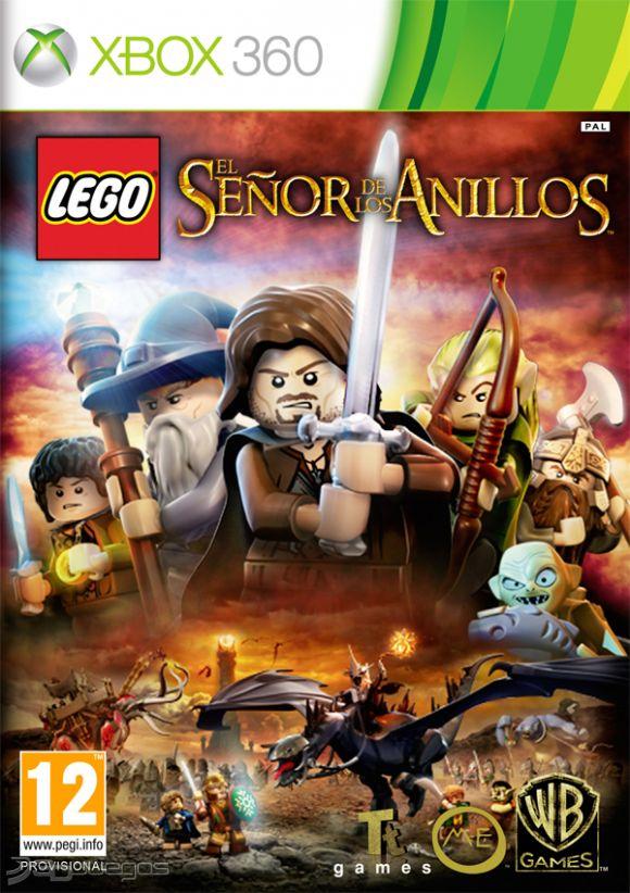 LEGO El Señor De Los Anillos (Region FREE) XBOX 360 ESP...