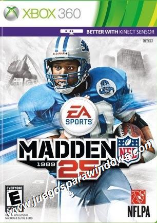 Madden NFL 25 XBOX 360 Descargar (Region FREE) XGD3 (iM...