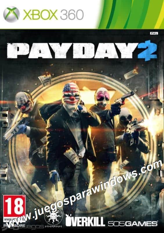 Payday 2 XBOX 360 ESPAÑOL Descargar Gratis (Region FREE...