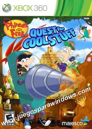 Phineas And Ferb Quest For Cool Stuff XBOX 360 ESPAÑOL Descargar