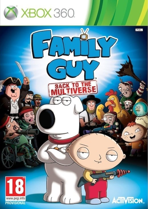 Family Guy Back To The Multiverse (Region FRE...