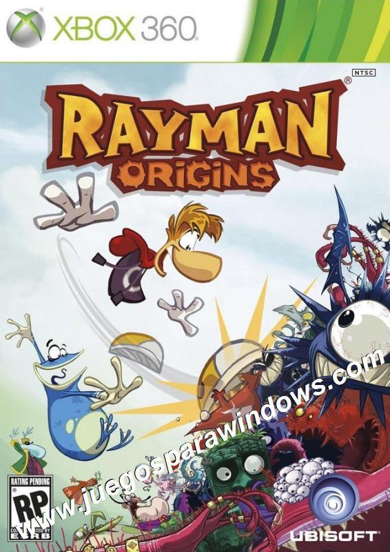 Rayman Origins XBOX 360 ESPAÑOL Descargar (Re...