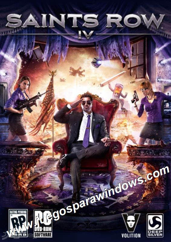 Saints Row 4 PC ESPAÑOL Descargar Full