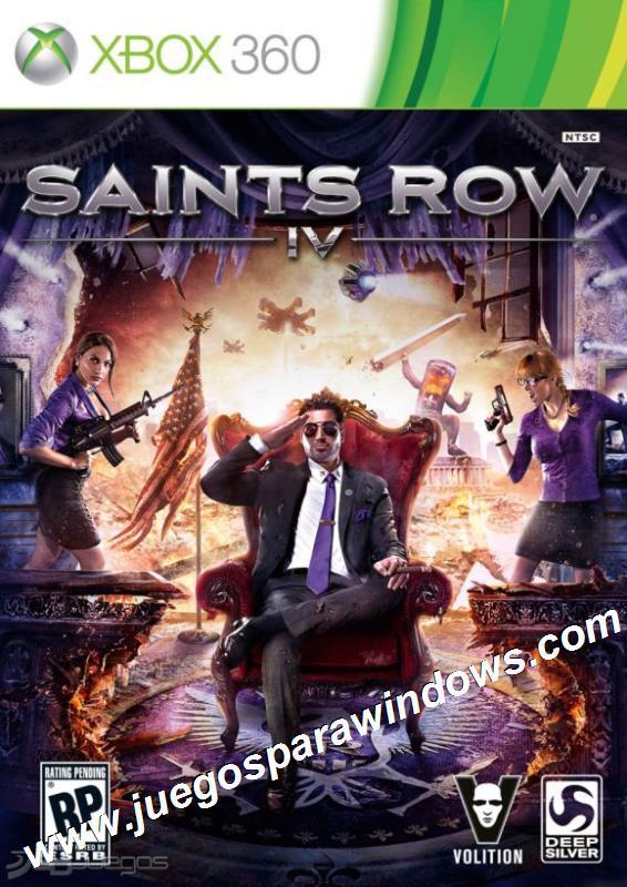 Saints Row 4 XBOX 360 ESPAÑOL Descargar