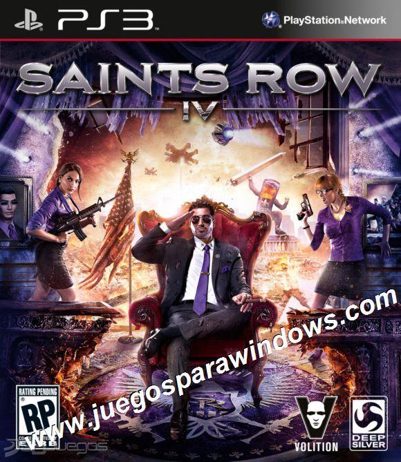 Saints Row IV PS3 ESPAÑOL Descargar