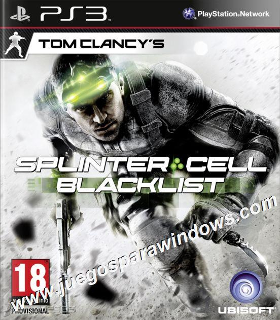 Splinter Cell Blacklist PS3 ESPAÑOL Descargar