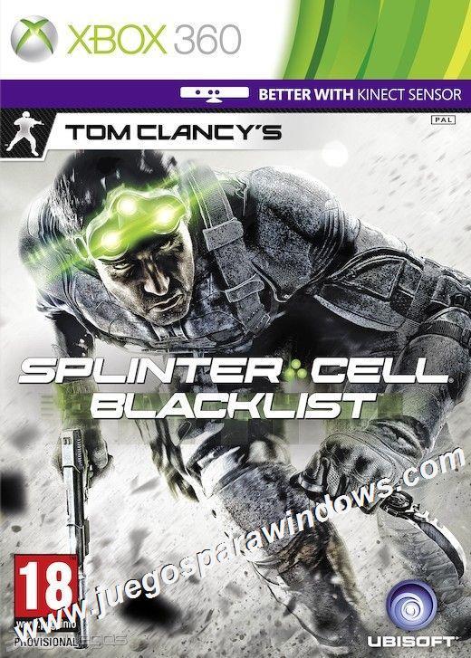 Splinter Cell Blacklist XBOX 360 ESPAÑOL Descargar (Reg...