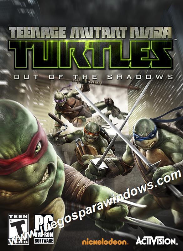 Teenage Mutant Ninja Turtles Out of the Shadows PC ESPA...