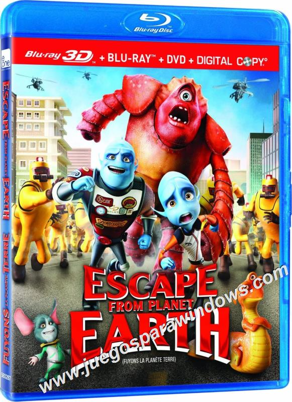 Escape from Planet Earth (2013) BDRip 720p HD ESPAÑOL Latino Descargar