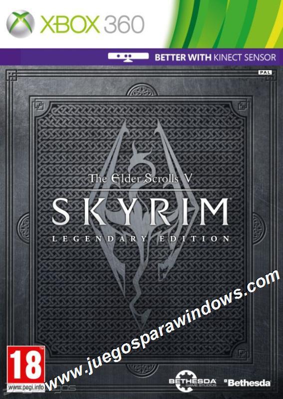The Elder Scrolls V Skyrim Legendary Edition XBOX 360 E...