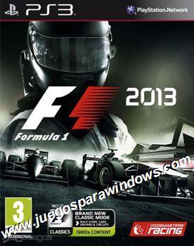 F1 2013 PS3 ESPAÑOL Descargar (COLLATERAL) CFW 4.46+