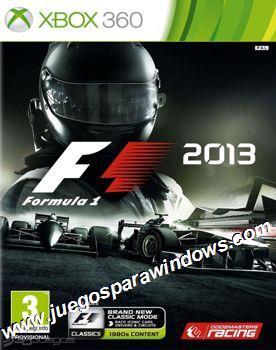 F1 2013 XBOX 360 ESPAÑOL Descargar