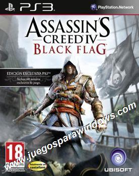 Assassins Creed IV Black Flag PS3 ESPAÑOL Descargar