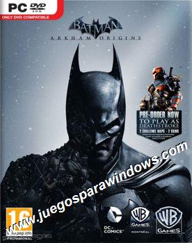 Batman Arkham Origins PC ESPAÑOL Descargar Full (RELOAD...