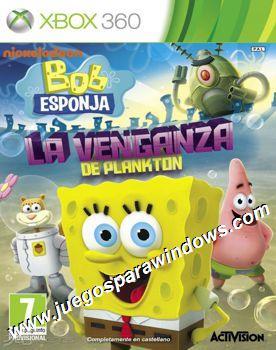 Bob Esponja La Venganza De Plankton ESPAÑOL XBOX 360 Descargar