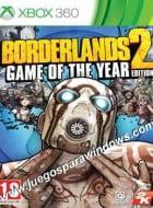 Borderlands 2 Game Of The Year Edition XBOX 360 ESPAÑOL Descargar (Region FREE) XGD3 y XGD2 (COMPLEX)