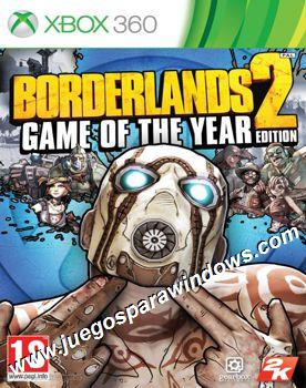 Borderlands 2 Game Of The Year Edition XBOX 360 ESPAÑOL...