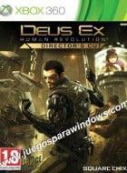 Deus Ex Human Revolution Directors Cut XBOX 360 ESPAÑOL Descargar (Region FREE) XGD2 (COMPLEX)