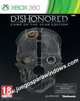 Dishonored Game of the Year Edition XBOX 360 ESPAÑOL De...