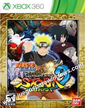 Naruto Shippuden Ultimate Ninja Storm 3 Full Burst XBOX 360 ESPAÑOL (Region NTSC-U/PAL) XGD3 (PROTON) 1