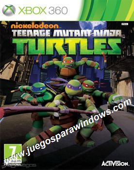 Nickelodeons Teenage Mutant Ninja Turtles XBOX 360 ESPAÑOL Descargar