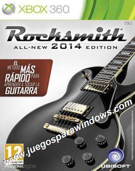 Rocksmith 2014 XBOX 360 ESPAÑOL Descargar (Region FREE)...