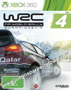 WRC FIA World Rally Championship 4 XBOX 360 ESPAÑOL Descargar