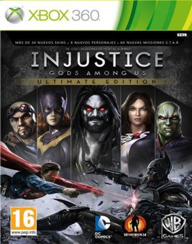 Injustice Gods Among Us Ultimate Edition XBOX 360 ESPAÑOL