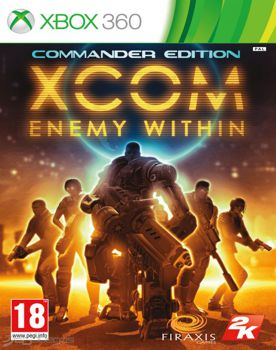 XCOM Enemy Within Commander Edition XBOX 360 ESPAÑOL