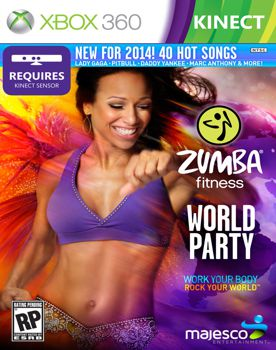 Zumba Fitness World Party XBOX 360 (Region NTSC-U) XGD3 (iCON) 1