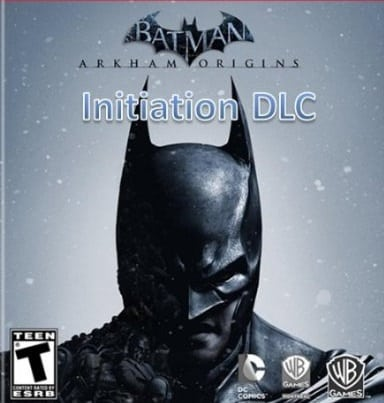 Batman Arkham Origins Initiation PC Cover