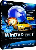 Corel WinDVD Pro 11 v11.7.0.2 Multilenguaje ESPAÑOL Avanzado Reproductor De DVD, Blu-ray 2D y 3D (CORE)