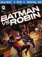 Batman vs Robin Blu-ray Cover Caratula