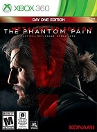 Metal Gear Solid V The Phantom Pain XBOX 360 Cover Caratula