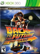 Back To The Future XBOX 360 Cover Caratula