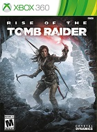 Rise Of The Tomb Raider XBOX 360 Cover Caratula