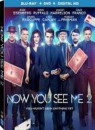 Los Ilusionistas 2 Blu-ray Cover Caratula